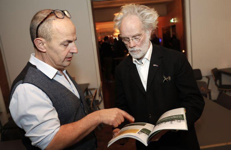 Hein van Iersel en Michel Huisman
