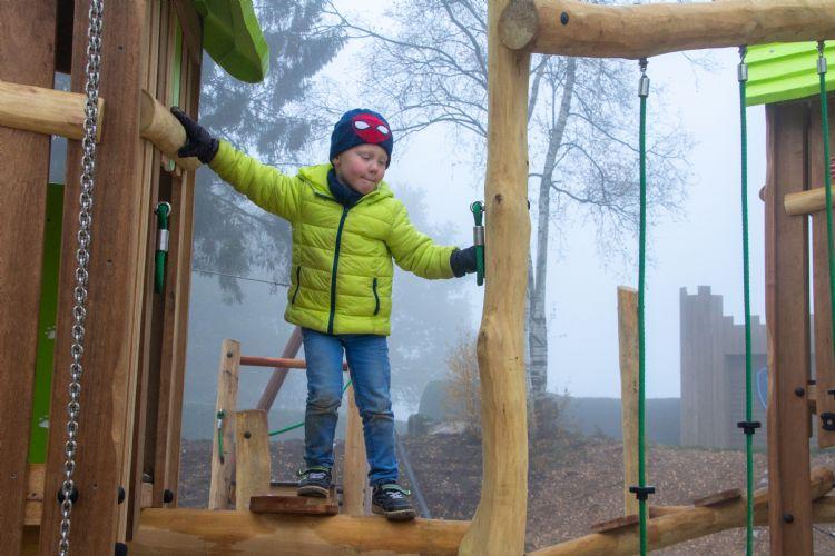 Boer realiseerde onlangs een spannende nieuwe speeltuin met haar gloednieuwe lijn voor risicovol spel: Adventure Play Explore