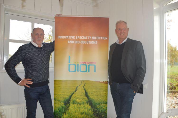 John Feyaerts (links) en oprichter Fred Bosch (rechts)