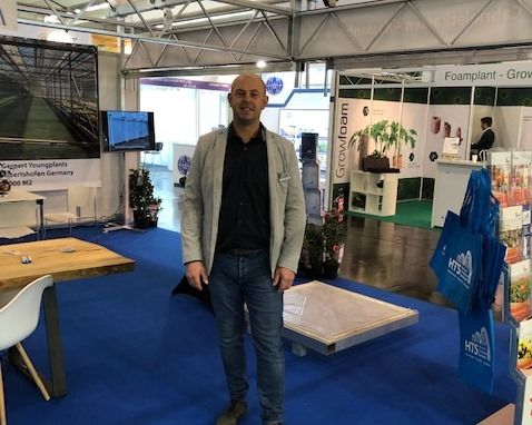 Berry Zuiderwijk, directeur van Holland Tuinbouw Systemen